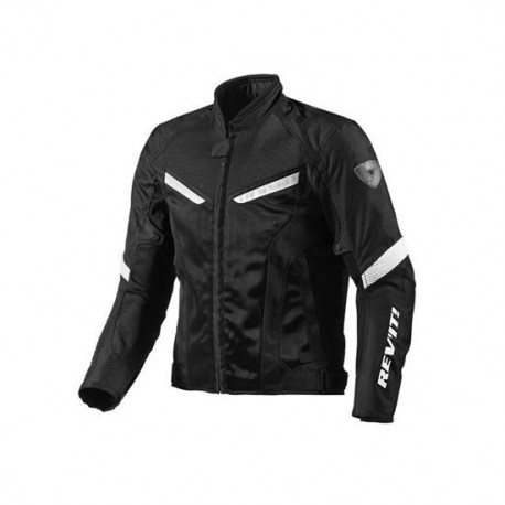 CHAQUETA REVIT GT-R AIR NEGRO BLANCO