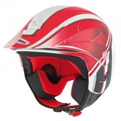 CASCO SHIRO SH-65 K2 GRAPHIC ROJO