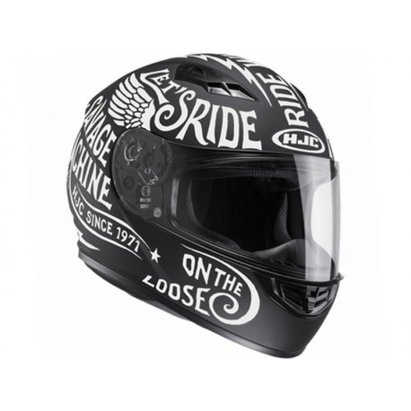 CAPACETE HJC CS15 REBEL MC10F