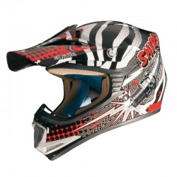 CASCO SHIRO MX-306 ROCKID BLANCO