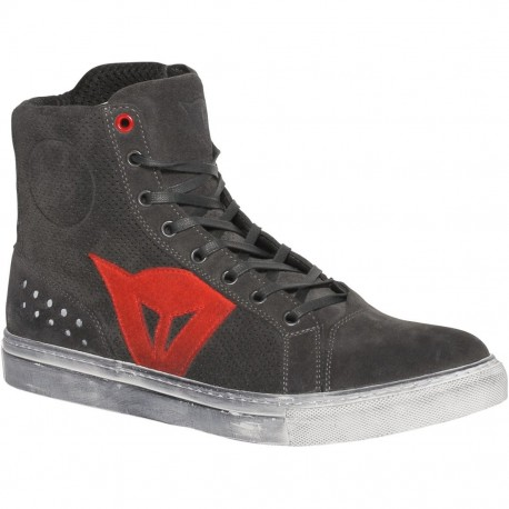 ZAPATILLAS DAINESE STREET BIKER AIR CARBON ROJO