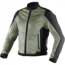 CHAQUETA DAINESE AIR FLUX D1 ANTRACITA NEGRO
