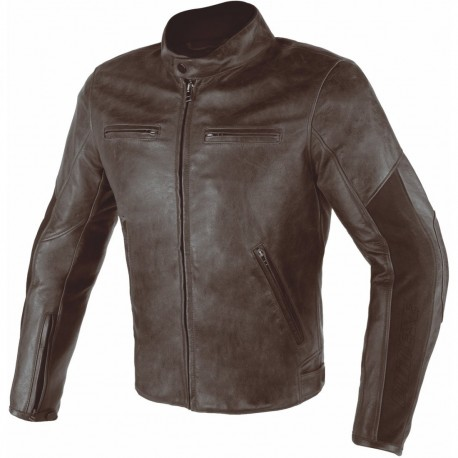 CAZADORA DAINESE STRIPES D1 MARRON