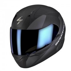CASCO SCORPION EXO410 SLICER NEGRO GRIS MATE