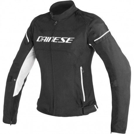 CHAQUETA DAINESE D-FRAME LADY NEGRO BLANCO