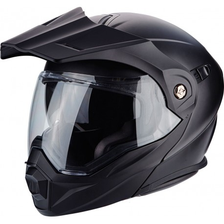 CASCO SCORPION ADX1 SOLID NEGRO MATE