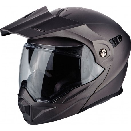 CAPACETE SCORPION ADX1 SOLID ANTRACITE MATE