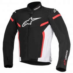 CHAQUETA ALPINESTARS T-GP PLUS R V2 AIR NEGRO BLANCO ROJO