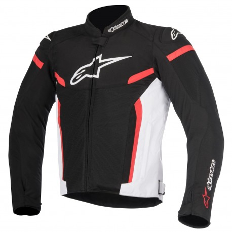 CHAQUETA ALPINESTARS GP PLUS R V2 AIR NEGRO BLANCO ROJO