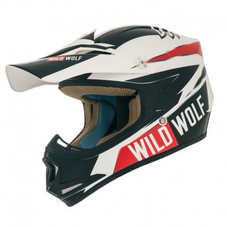 CAPACETE SHIRO MX-306 WILD WOLF INFANTIL
