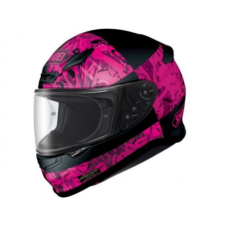CASCO SHOEI NXR BOOGALOO TC7 FUCCSIA