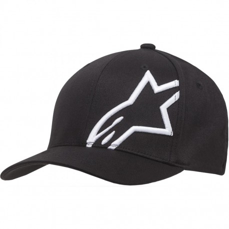 GORRA ALPINESTARS CORP SHIFT 2 FLEXFIT NEGRO BLANCO