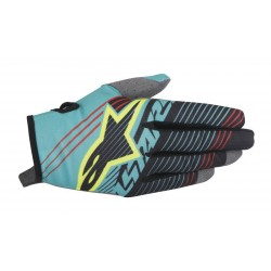 GUANTES ALPINESTARS YOUTH RADAR TRACKER AZUL NEGRO AMARILLO