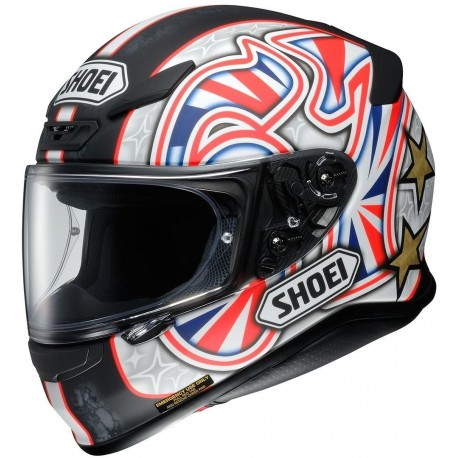 CASCO SHOEI NXR SHANE BYRNE TC1