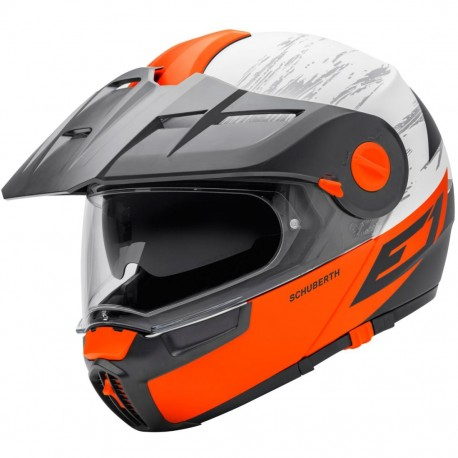 CASCO SCHUBERTH E1 CROSSFIRE NARANJA MATE