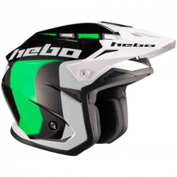 CASCO HEBO TRAIL ZONE 5 LIKE VERDE
