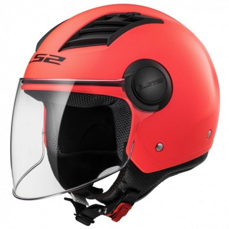 CASCO LS2 OF562 AIRFLOW NARANJA MATE LONG