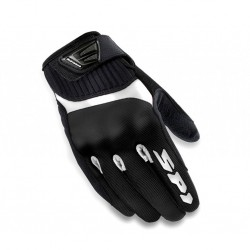 GUANTES SPIDI FLASH TEX LADY NEGRO BLANCO