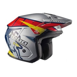 CASCO HEBO TRIAL ZONE 5 T-ONE GRIS