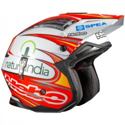 CASCO HEBO TRIAL ZONE 4 TONI BOU BLANCO