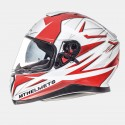 CASCO MT THUNDER 3 SV EFFECT BLANCO ROJO