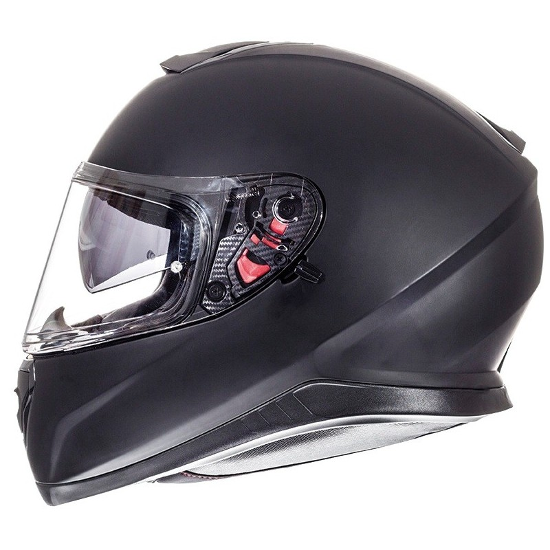 L CASCO MT THUNDER 3 SV ON BOARD NEGRO Y BLANCO