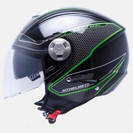 CASCO MT CITY SEVEN SV DYNAMIC NEGRO VERDE FLUOR