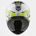 CASCO MT IMOLA II OVERCOME BLANCO MATE AMARILLO FLUOR