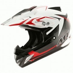 CASCO MT MX-2 STEEL KID ROJO