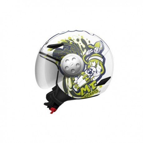 CASCO MT SKATE BOARD DIVISION JR INFANTIL BLANCO