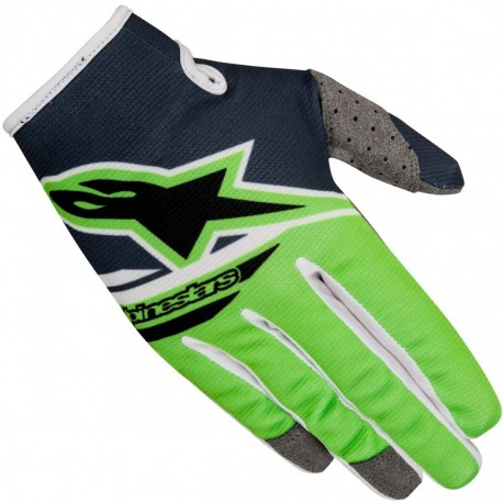 GUANTES ALPINESTARS RADAR FLIGHT ANTRACITA VERDE