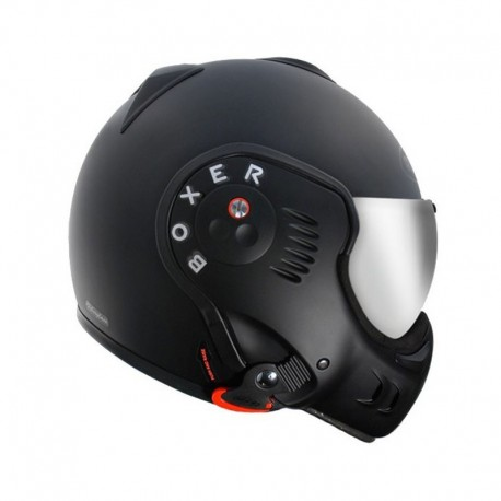 CASCO ROOF BOXER V8 NEGRO MATE