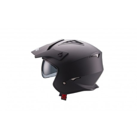 CASCO UNIK TRIAL CT-07 GAFAS NEGRO MATE