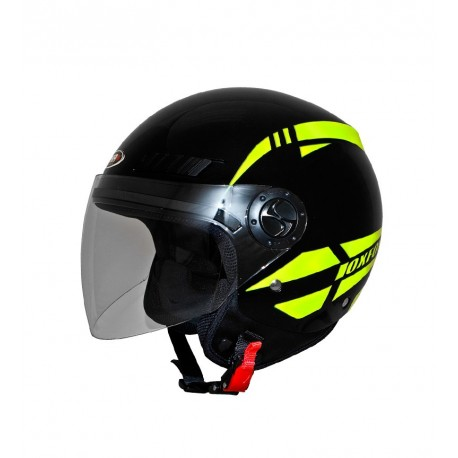 CASCO SHIRO SH-62 OXFORD NEGRO AMARILLO FLUOR