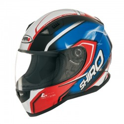 CASCO SHIRO SH881 MOTEGI ROJO