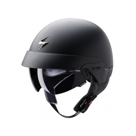 CASCO SCORPION EXO 100 SOLIDO NEGRO MATE