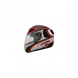 CASCO LEVIOR FALCON GRAPH ROJO
