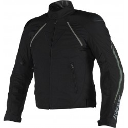 CHAQUETA DAINESE HAWKER D-DRY NEGRA GRIS