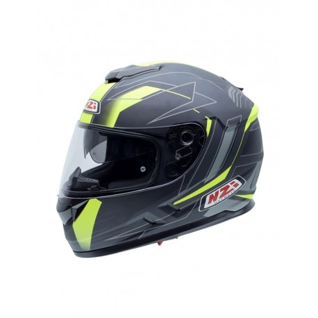 CASCO NZI SYMBIO DUO GRAPHICS ULSTER AMARILLO FLUOR