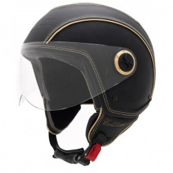 CASCO HELIX CLEBRITIES NEGRO MATE