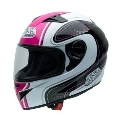CASCO NZI II MUST MULTI BLANCO ROSA