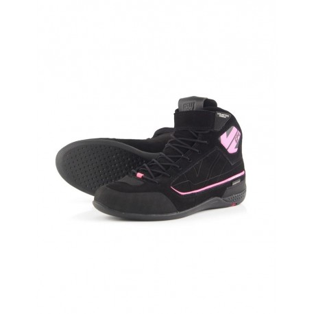 BOTAS V4 GP4 LADY WATERPROOF NEGRO ROSA