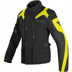 CHAQUETA DAINESE TEMPEST LADY D-DRY NEGRA FLUOR