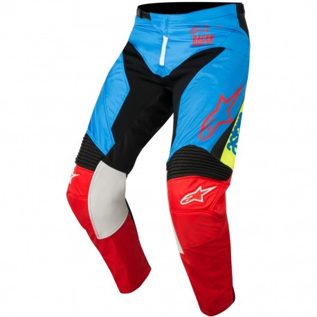 PANTALON ALPINESTARS YOUTH RACER SUPERMATIC AZUL NEGRO ROJO