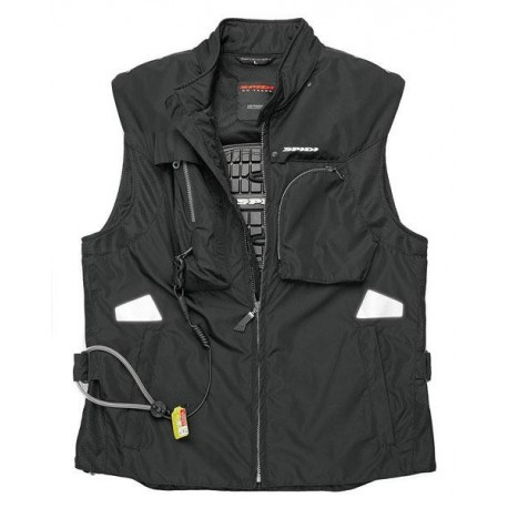 CHAQUETA SPIDI NECK DPS-1 NEGRO