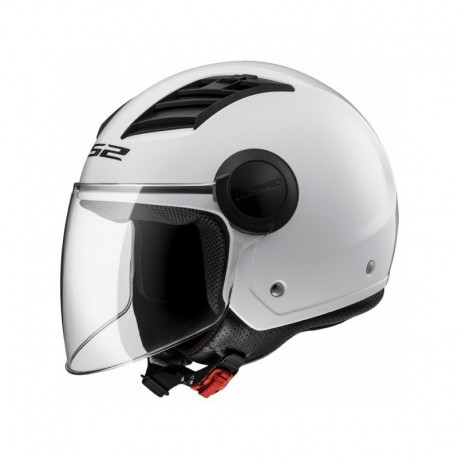 CASCO LS2 OF562 AIRFLOW BLANCO LONG