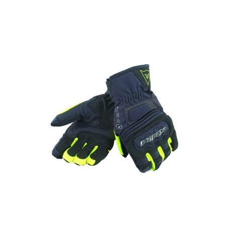 GUANTES DAINESE CLUTCH EVO LADY D-DRY NEGRO AMARILLO FLUOR