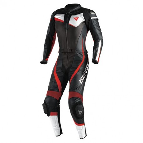 MONO DAINESE VELOSTER DVISIBLE LADY NEGRO BLANCO ROJO FLUOR