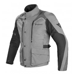 CHAQUETA DAINESE TEMPEST DRY GRIS NEGRO