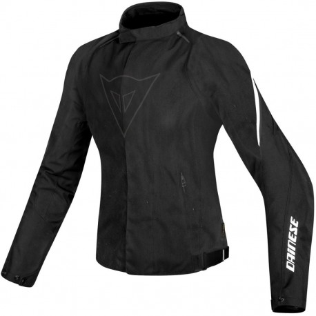 CHAQUETA DAINESE LAGUNA SECA D1 LADY DDRY NEGRO BLANCO